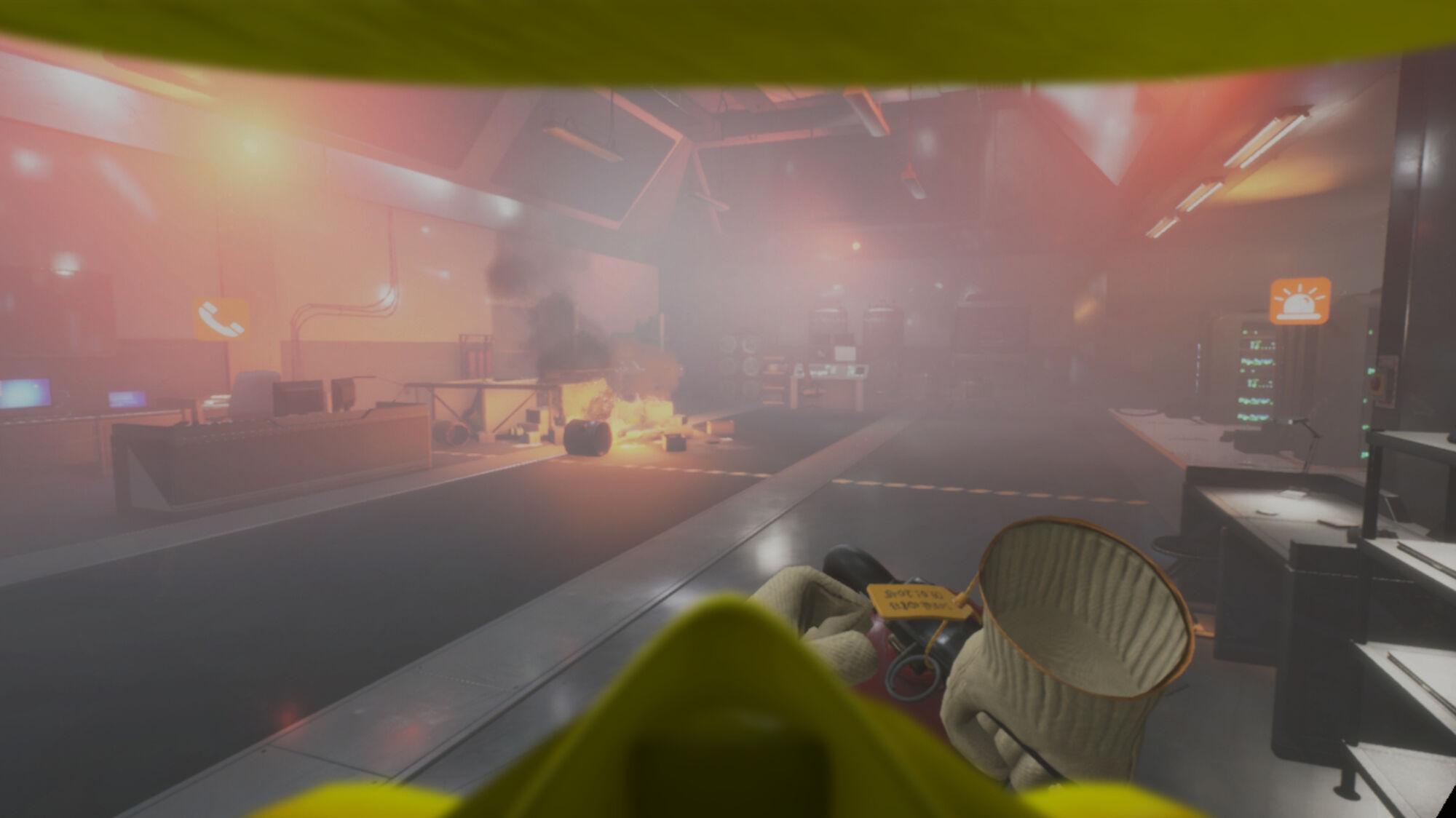На картинках графика выглядит скромнее, чем вреальности, так как создана специально для VR