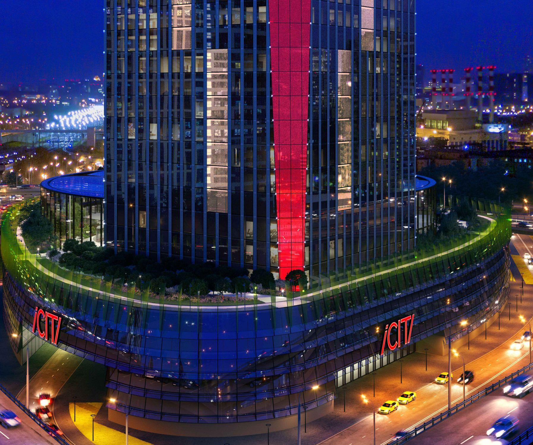 Группа ВТБ приобрела долю впроекте цифрового небоскреба