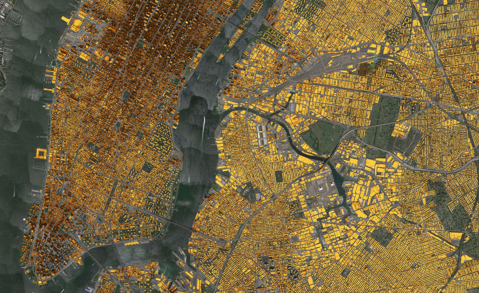 126 млн замеров понадобилось для точной трехмерной карты Кембриджа