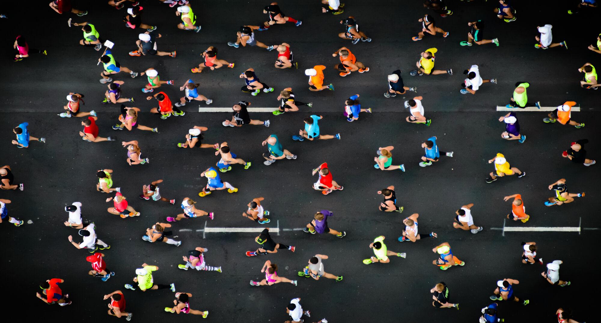25 тысяч марафонцев иискусственный интеллект разгадали секрет бега на длинные дистанции