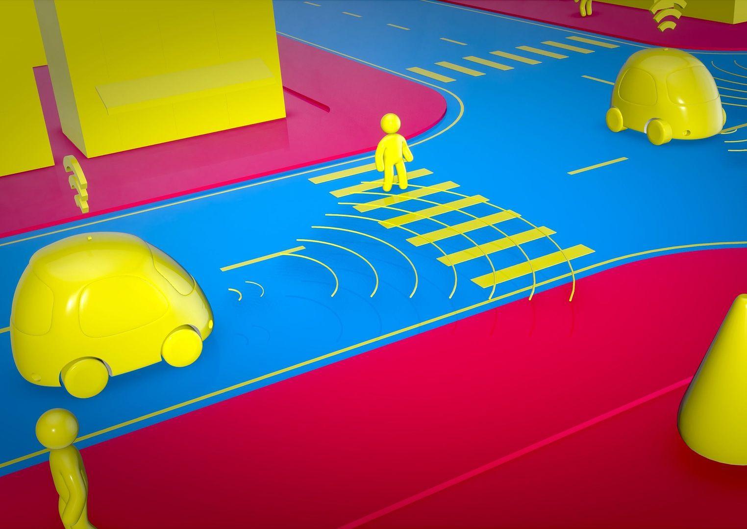 Для испытаний беспилотных автомобилей построили специальный город
