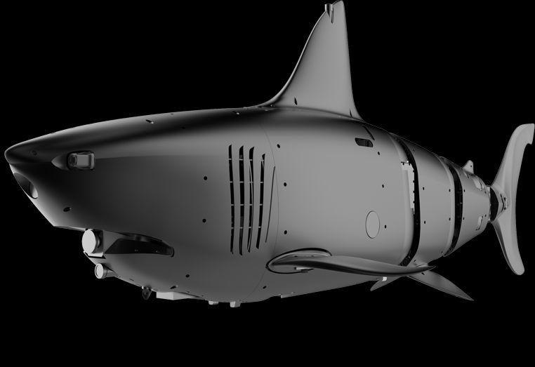 Китайская компания представила робота-акулу