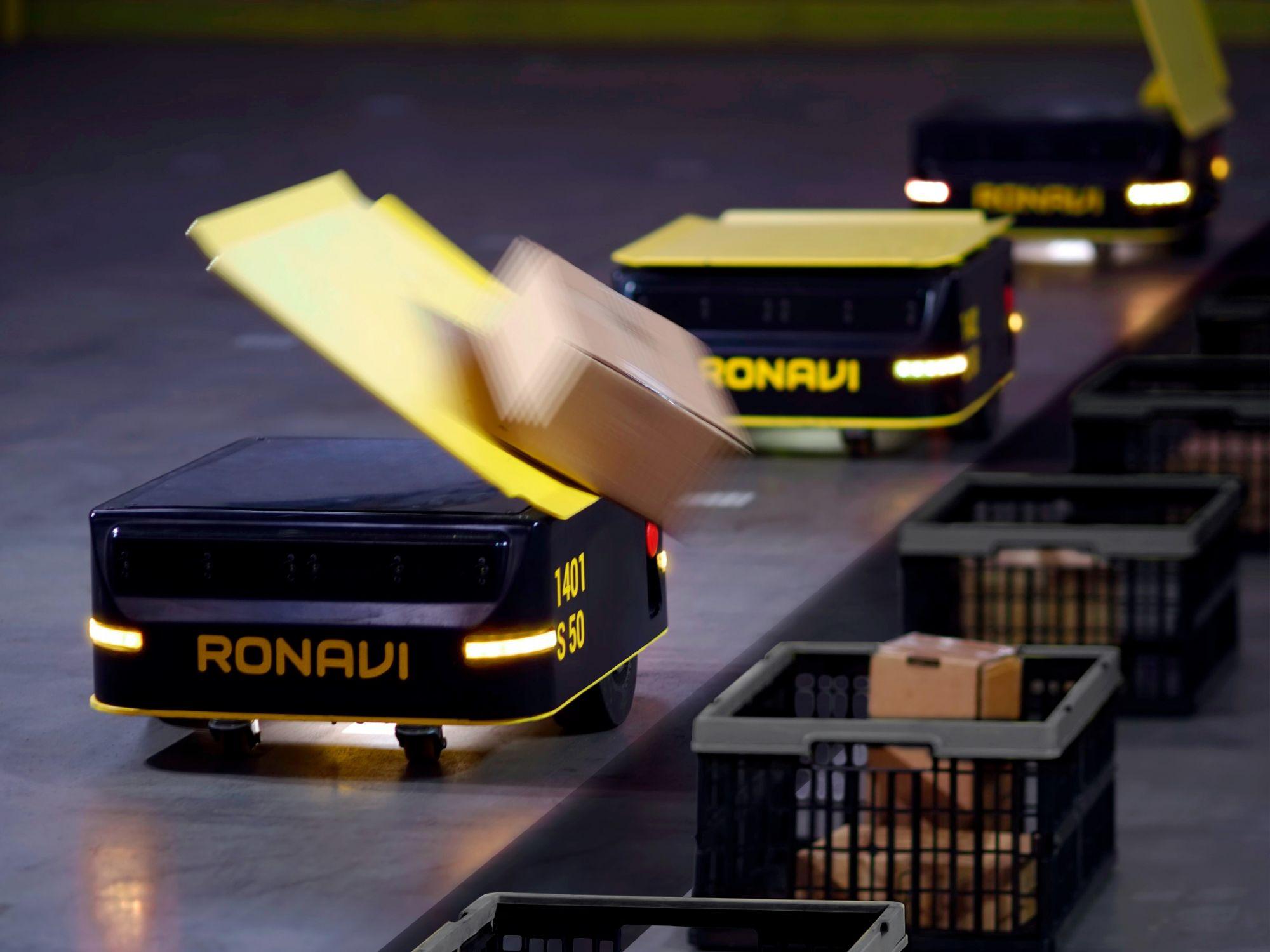 Резидент «Сколково» запустил продажи роботов-сортировщиков