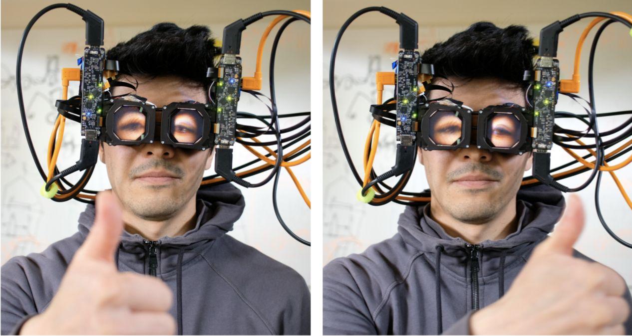 <i>Facebook </i>представил <i>VR-</i>шлемы с внешними экранами