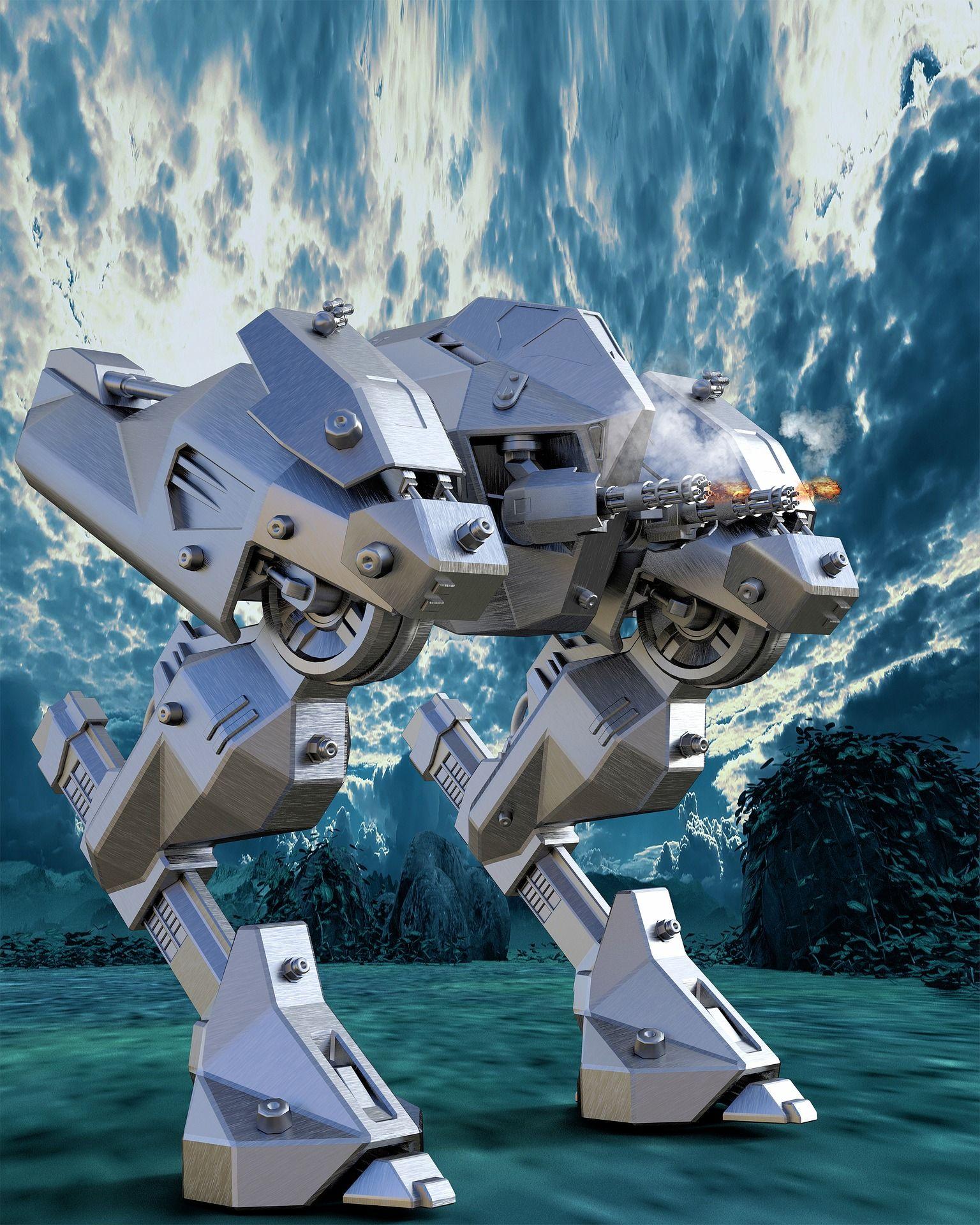 К 2030 году вамериканской армии будут подразделения боевых роботов