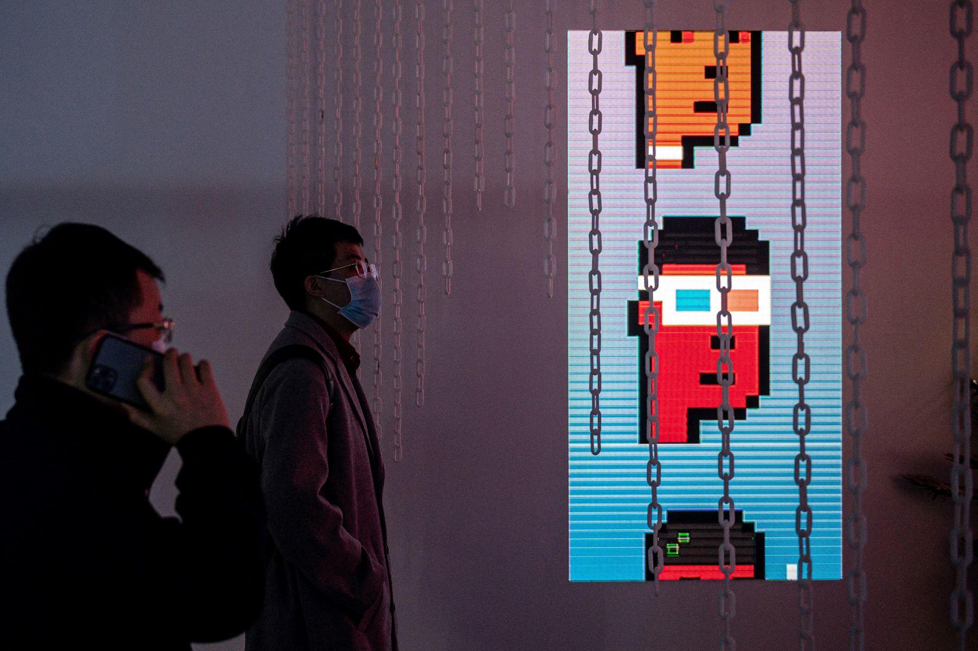 Дилан Филд. CryptoPunk #7804. Пиксель-арт размером всего 24 х 24 точки. Работа продана за 7,5 миллиона долларов
