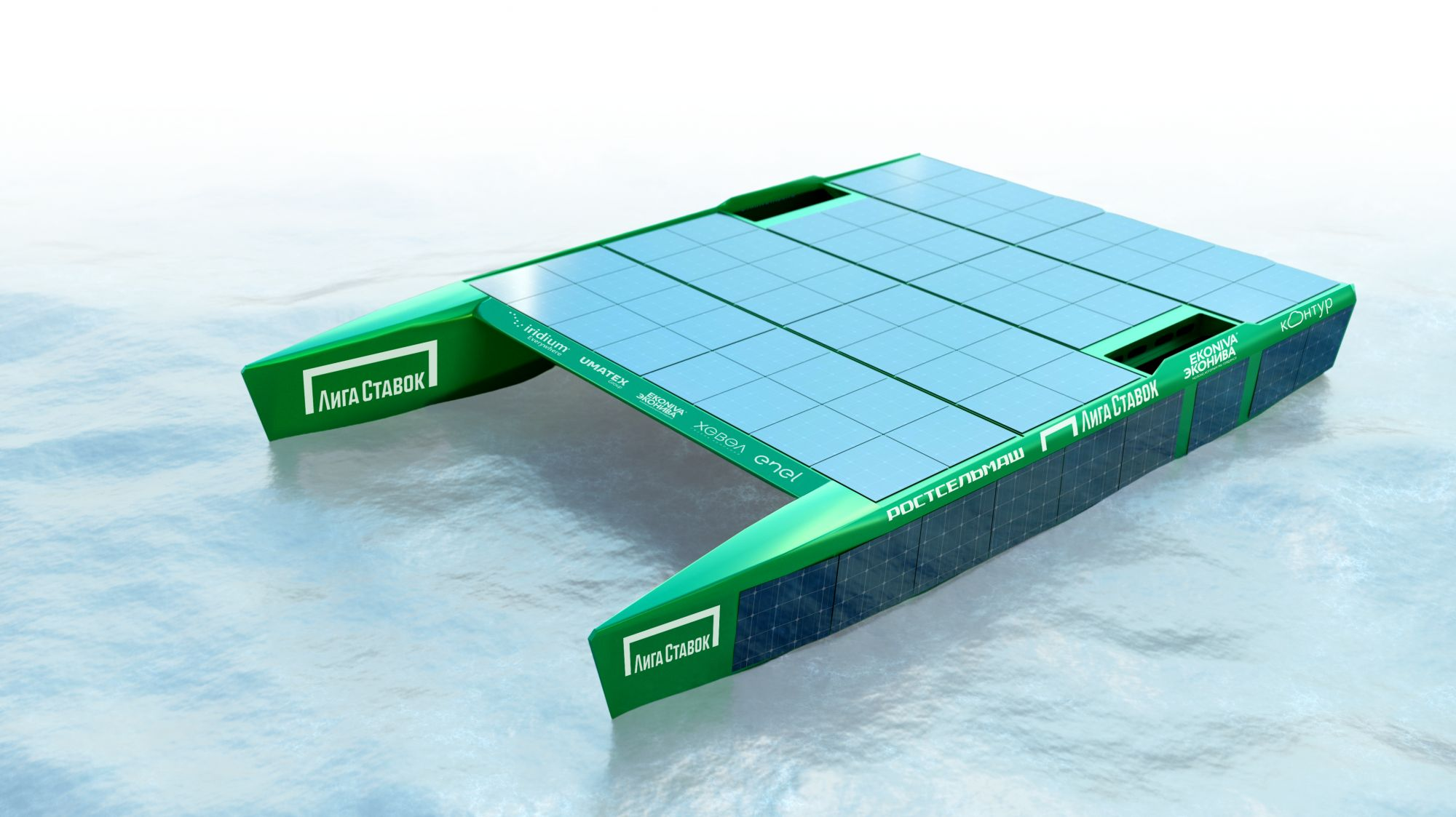2021: электрический катамаран на солнечных батареях NOVA готовится к тихоокеанскому переходу