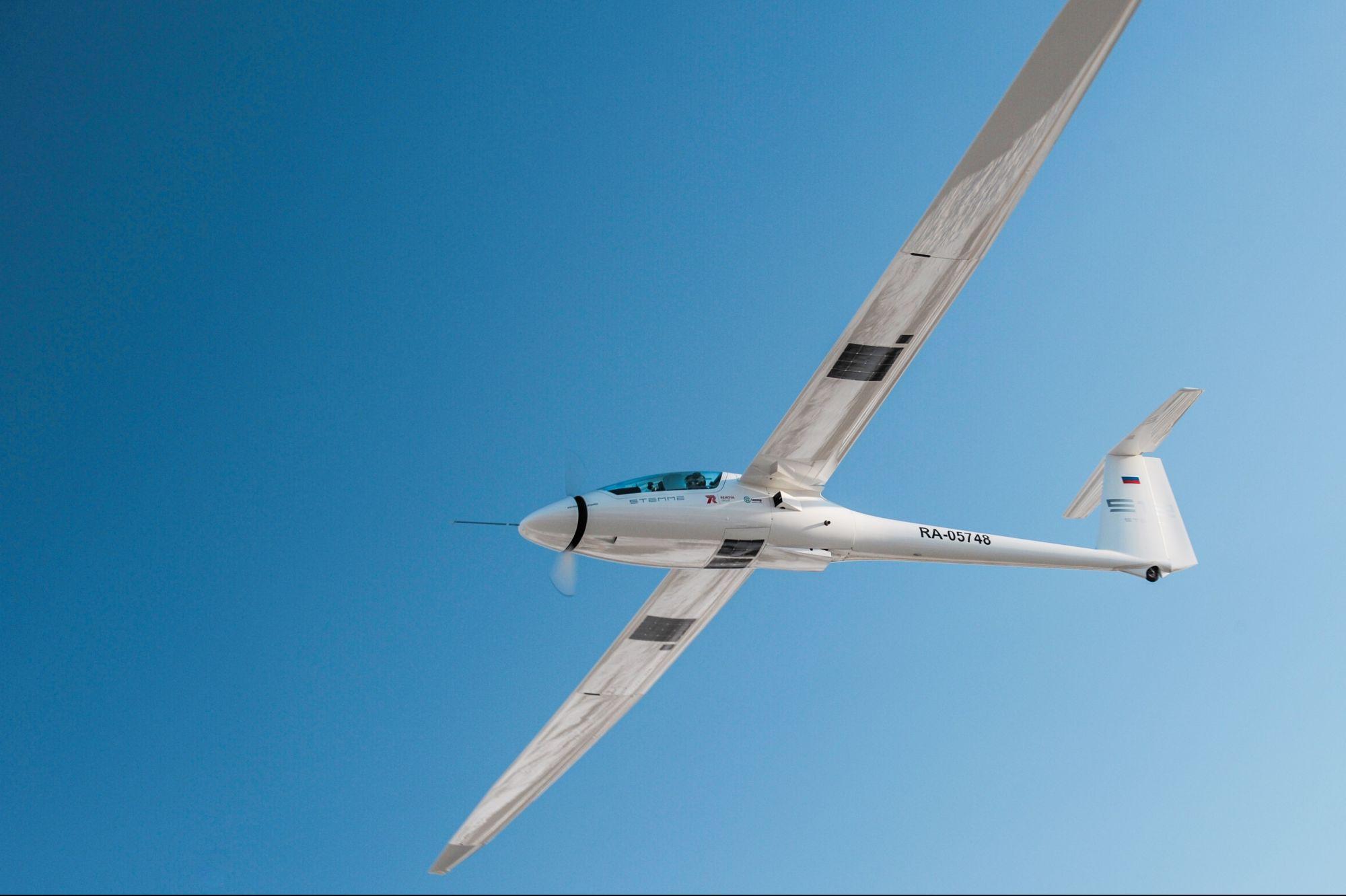 2020 «Летающая лаборатория» — экспериментальный самолет, оборудованный солнечными панелями