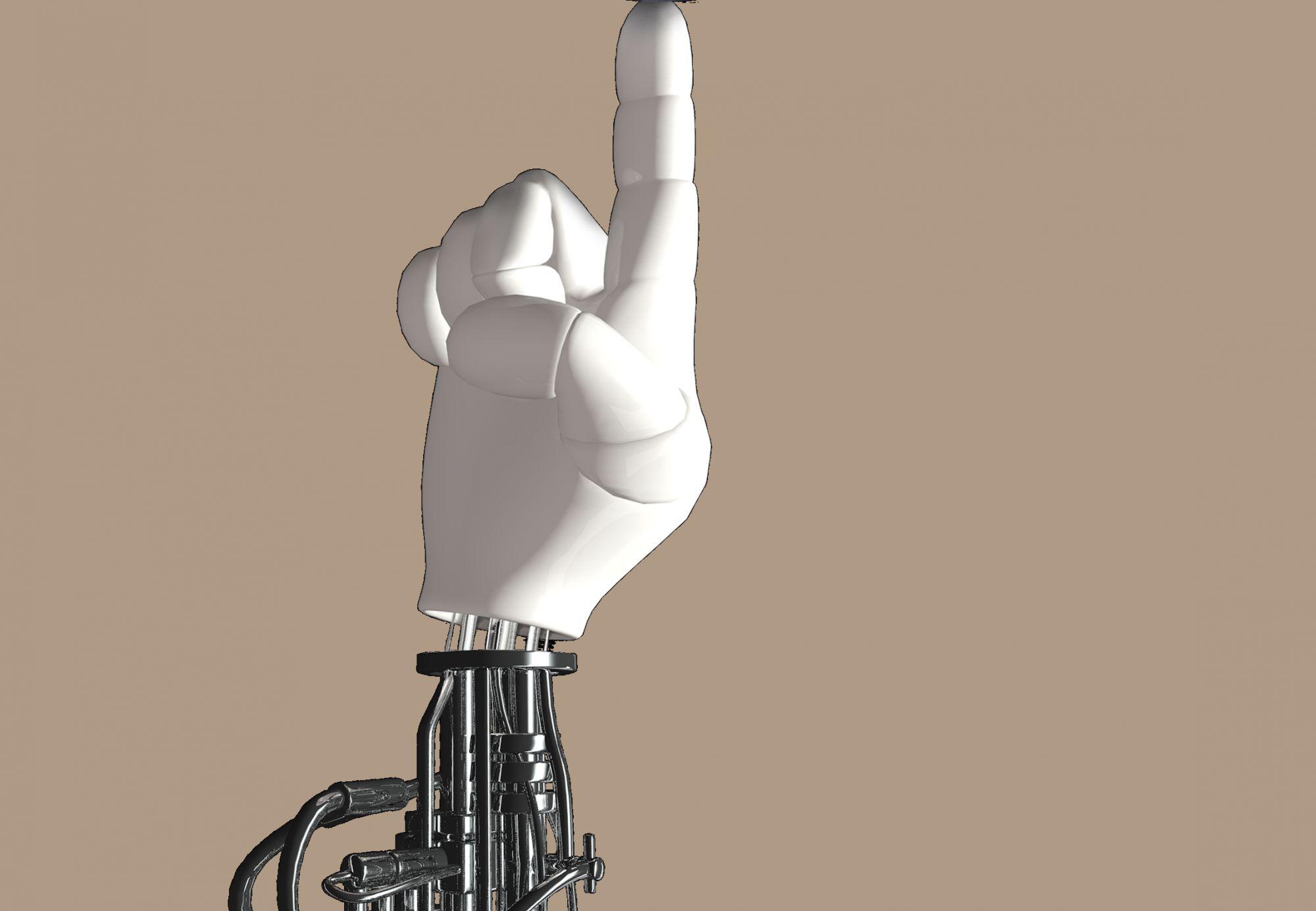 Создан робот ввиде пальца