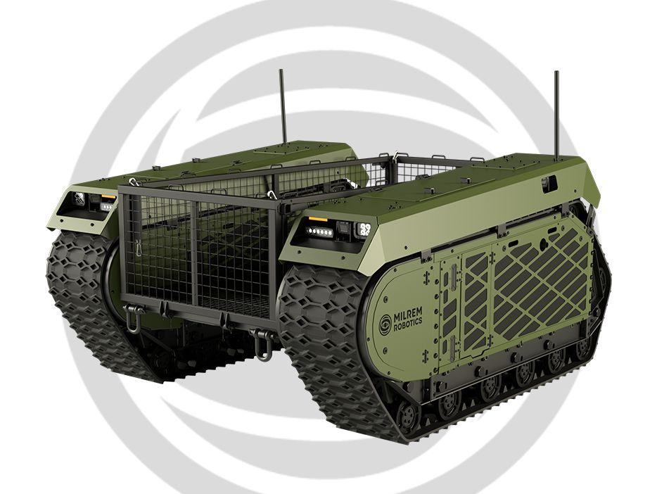 В Эстонии воюют боевые роботы