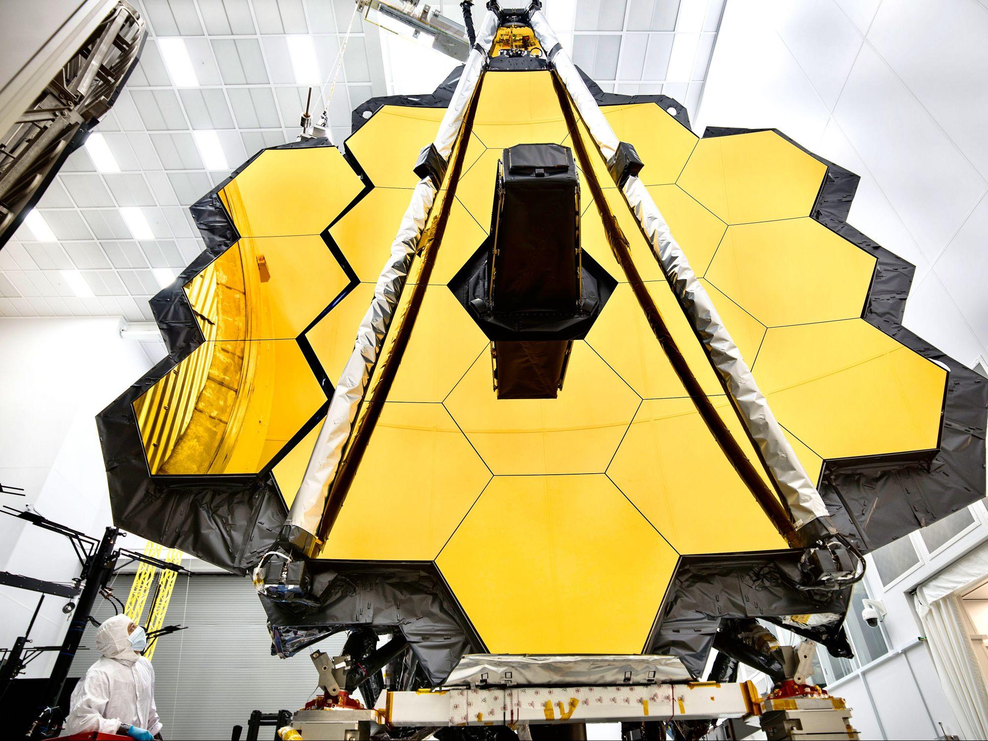 Самый большой космический телескоп готовится кзапуску