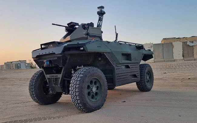 Очередной боевой робот появился вИзраиле