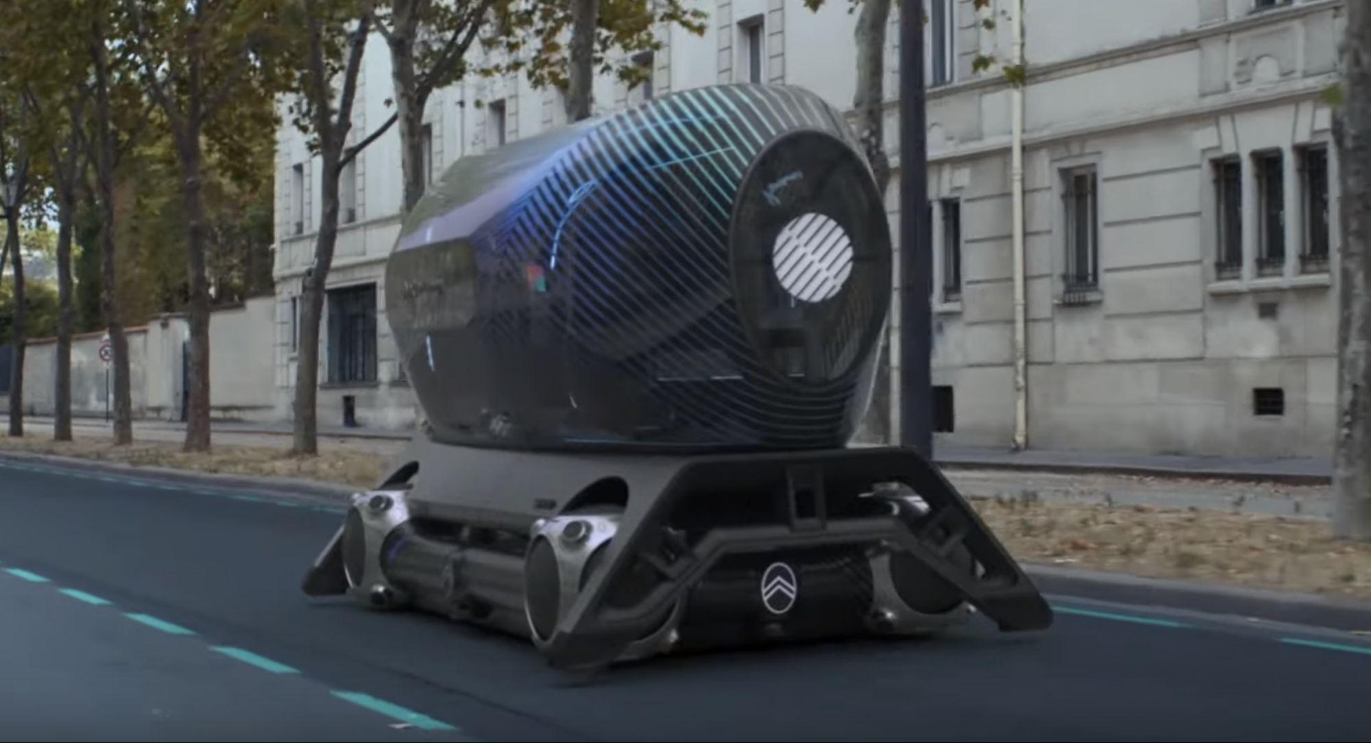 <i>Citro</i>ë<i>n </i>продемонстрировал «транспорт будущего»